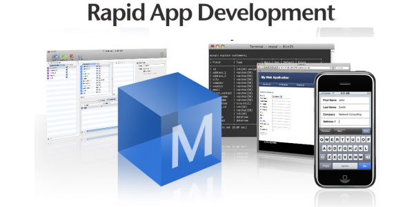 (RAD, Rapid Application Development) - концепция быстрой разработки приложений